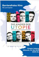 Plakat Kinder der Utopie