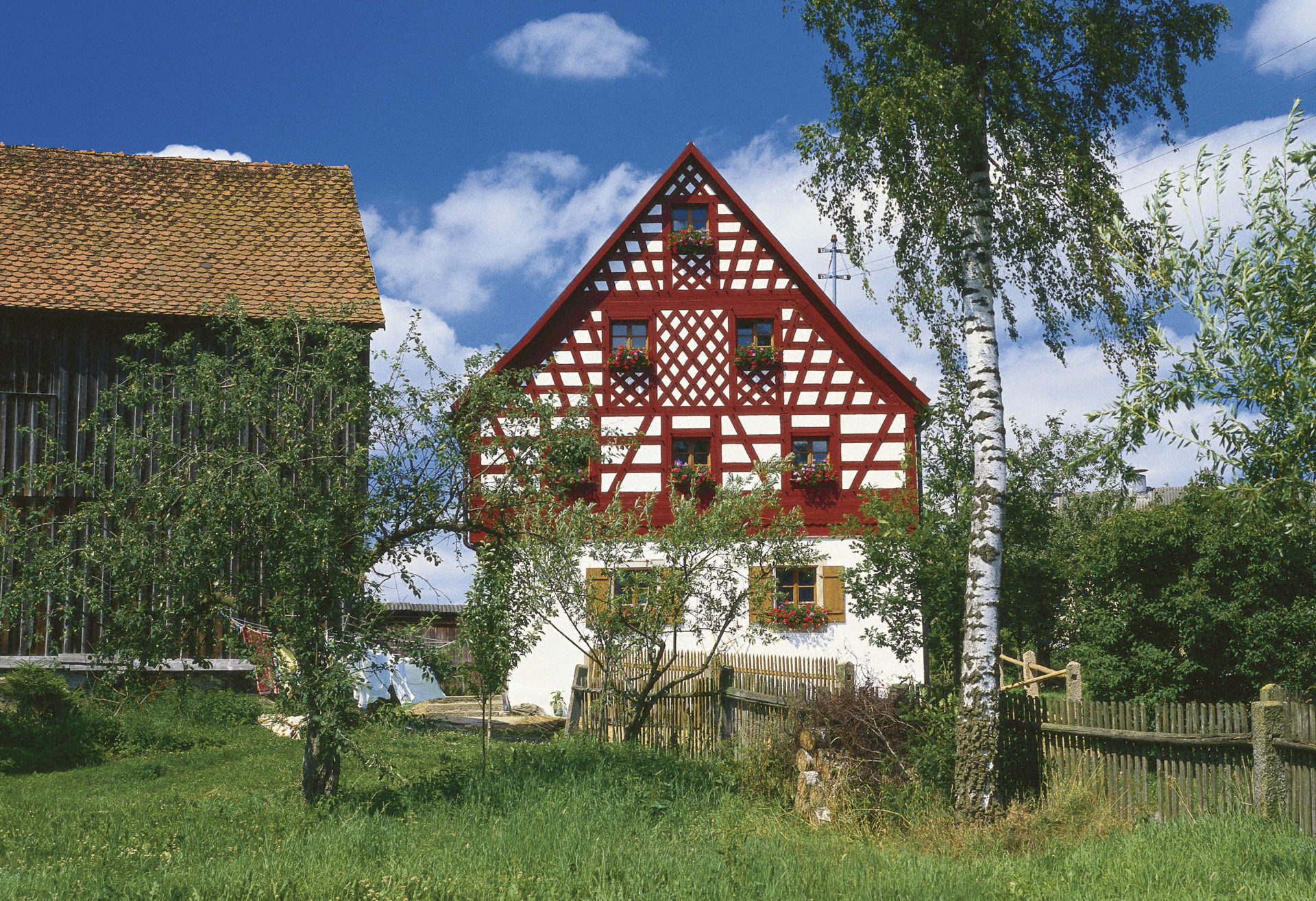 Fachwerkhaus im Kurort Neualbenreuth