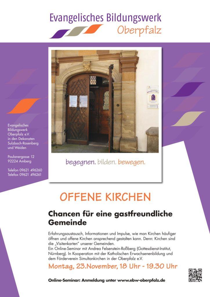 Offene Kirchen - Online-Seminar