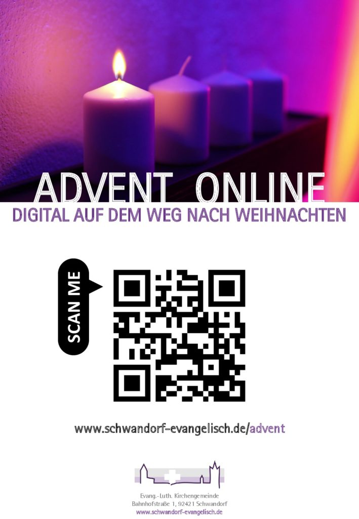 Plakat Digitaler Advent