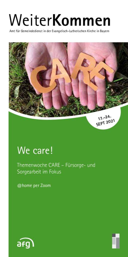 We-Care-Themenwoche